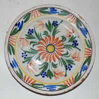 Dutch Delft Polychrome Plate