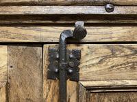 French Gothic Oak Rustic Cupboard or Wardrobe (18 of 22)
