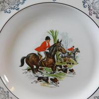 Woods Hunting Scene Plates (3 of 6)