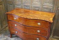 Plum Pudding Mahogany Serpentine Chest of Drawers (4 of 8)