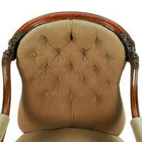 Victorian Rosewood Gent's Armchair (4 of 8)