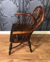 Low Back Ash & Elm Windsor Chair (3 of 8)