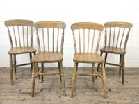 Set of Four Mix & Match Farmhouse Chairs (2 of 10)