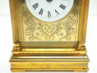 Fine French Repeat Carriage Clock with Foliate Carved Decoration By Charles Frodsham London (8 of 12)