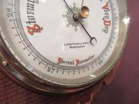 Antique Sheraton Inlaid Banjo Barometer (6 of 7)