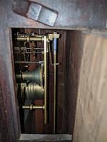 19th Century Mahogany Fusee Wall Clock (2 of 4)
