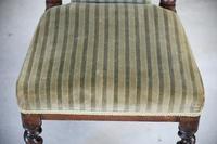 Victorian Walnut Prie Dieu Chair (3 of 11)