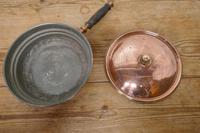 Deep 19th Century Copper Pan with Lid (5 of 6)
