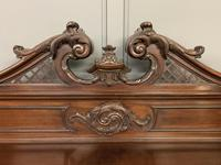 Late Victorian Carved Mahogany Chiffonier (15 of 17)