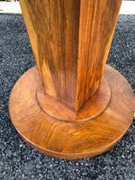 Art Deco Figured Walnut Coffee Table (4 of 6)