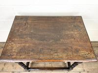 18th Century Antique Oak Side Table (3 of 11)