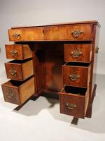 Most Attractive George III Period Kneehole Desk (4 of 6)