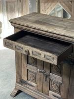Rustic Oak Spanish Sideboard (9 of 13)