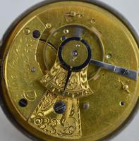 1812 Fusee Pocket Watch by  Master, Dublin (4 of 4)
