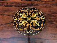 Inlaid Rosewood Table by James Shoolbred (6 of 11)