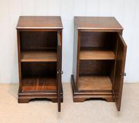 Pair of Oak Bedside Cabinets (6 of 12)