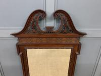 Chippendale Style Mahogany Mirror (3 of 6)