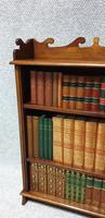 Small Adjustable Mahogany Bookcase (4 of 4)