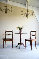 7 Antique Fruitwood Kitchen Chairs (9 of 9)