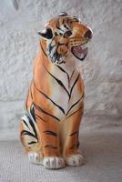 Large Mid-Century Italian Ceramic Tiger (10 of 10)