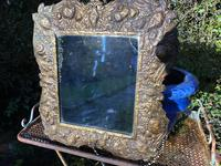 Unusual Repousse Mirror (3 of 5)