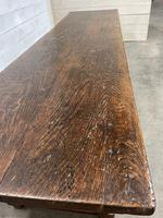 Wonderful Antique Large Refectory Farmhouse Dining Table (16 of 31)