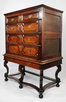 Late 17th Century Oak Chest on Stand (12 of 15)