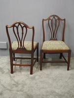 Pair of George III Mahogany Dining Chairs (9 of 10)