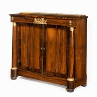 Pair of Late Regency Rosewood Side Cabinets (5 of 8)