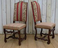 Set of Six French Oak Dining Chairs (2 of 9)
