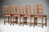 1930s Oak Dining Chairs (9 of 11)