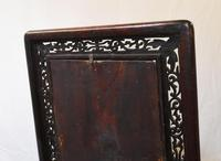 Antique Chinese Screen Hardwood Brass Plaque Circa 1890 (10 of 15)