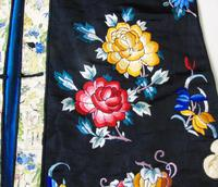 19th Century Chinese Silk Embroidered Robe (5 of 11)