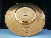Rare 9ct Gold Tower of London Armada Dish, Number 8 of 9 made (7 of 11)