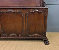 Late Victorian Carved Mahogany Chiffonier (8 of 17)
