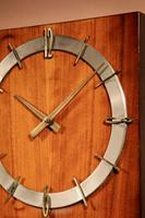 1960s Style Kienzle Walnut Brass Wall Clock (7 of 7)
