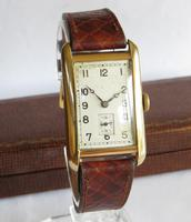 Gents 9ct Gold Rotary Wrist Watch, 1930 (2 of 6)