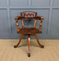 Victorian Revolving Desk Chair by Jas Shoolbred & Co (3 of 10)