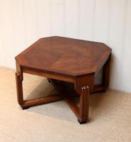 Low Walnut Art Deco Table (5 of 12)