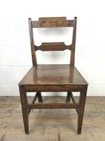 Pair of Welsh Oak Bar Back Farmhouse Chairs (13 of 15)