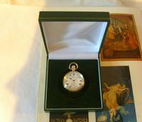 Antique Waltham Pocket Watch 1909 Ladies 7 Jewel 9ct Gold Filled Case With Curious Inscriptions Fwo (12 of 12)