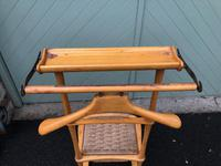 Unusual Beech Chair Valet Clothes Stand (5 of 7)