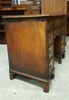 Antique Serpentine Front Walnut Desk (8 of 10)