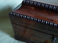 Rosewood Twin Canisters + Bowl Tea Caddy c.1840 (10 of 16)