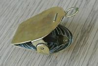 French Art Nouveau Brass Paper Clip Letter Clip c.1905 (4 of 5)
