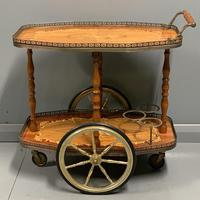 French Marquetry Drinks Trolley (3 of 4)