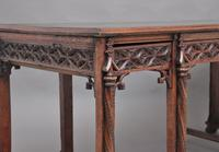 19th Century French Oak Desk in the Gothic Style (13 of 17)