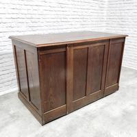 Oak Pedestal Desk (4 of 9)