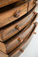 Antique George IV Mahogany Chest of Drawers (5 of 12)