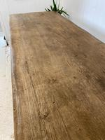Large French Oak Farmhouse Refectory Dining Table (8 of 10)